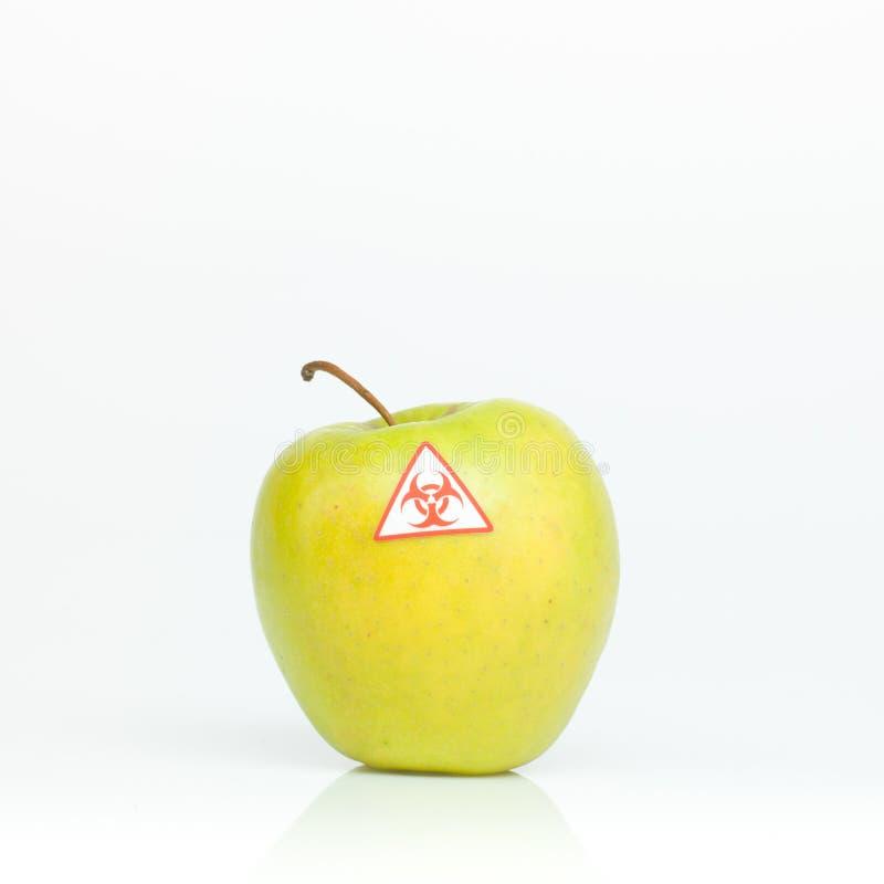 Μολυσμένο μήλο στοκ εικόνες
