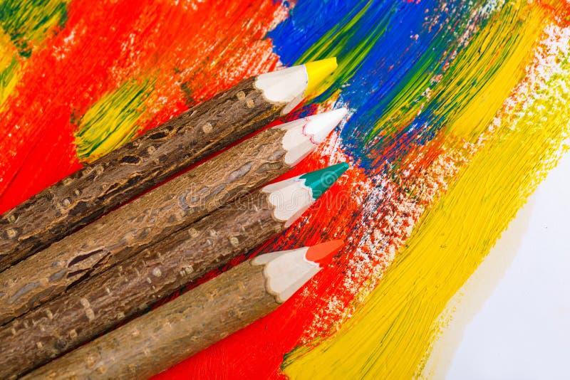 Download Μολύβια χρώματος στοκ εικόνα. εικόνα από βακκινίων, και - 62723405