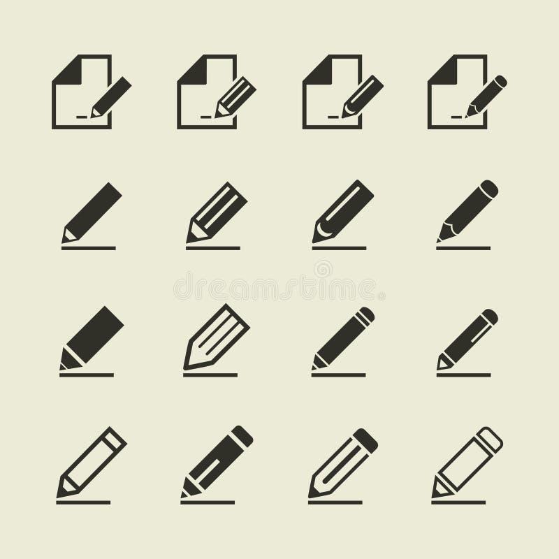 Μολύβι ένα εικονίδιο