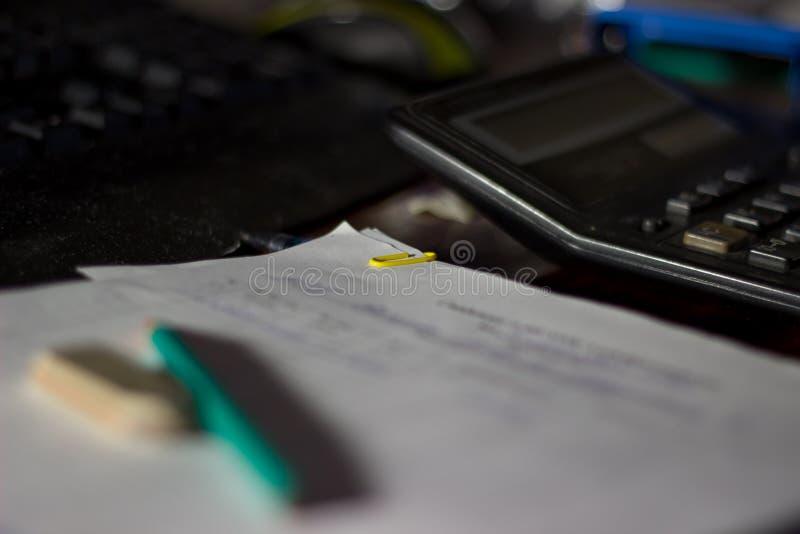 Μολύβι και γόμα στοκ φωτογραφία με δικαίωμα ελεύθερης χρήσης