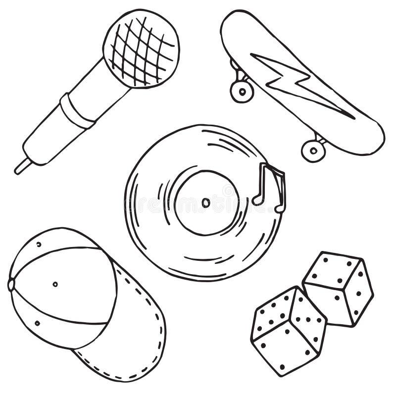Μπάλωμα που τίθεται στο άσπρο υπόβαθρο ελεύθερη απεικόνιση δικαιώματος