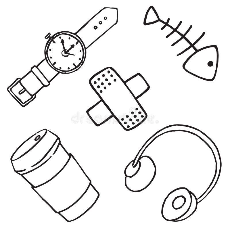Μπάλωμα που τίθεται στο άσπρο υπόβαθρο απεικόνιση αποθεμάτων
