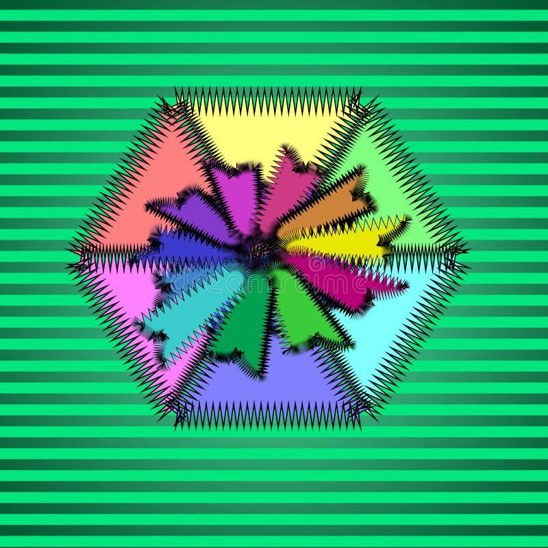 Μπάλωμα χρώματος για τα ενδύματα ελεύθερη απεικόνιση δικαιώματος
