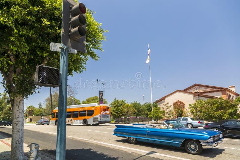 Μπέβερλι Χιλς, Λος Άντζελες, Καλιφόρνια, Ηνωμένες Πολιτείες της Αμερικής, Βόρεια Αμερική στοκ φωτογραφία με δικαίωμα ελεύθερης χρήσης