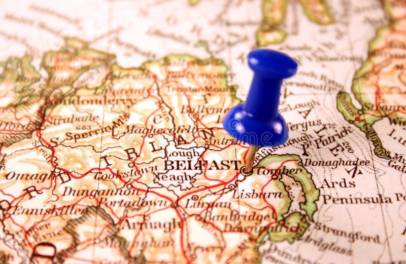 Μπέλφαστ Ιρλανδία βόρεια στοκ φωτογραφίες με δικαίωμα ελεύθερης χρήσης