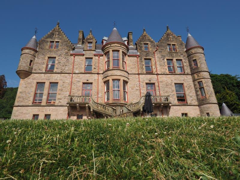 Μπέλφαστ Castle σε Cavehill στο Μπέλφαστ στοκ φωτογραφίες με δικαίωμα ελεύθερης χρήσης