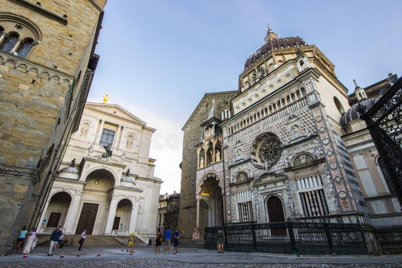 Μπέργκαμο Ιταλία στοκ φωτογραφία με δικαίωμα ελεύθερης χρήσης