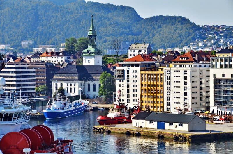 Μπέργκεν, Νορβηγία στοκ φωτογραφίες