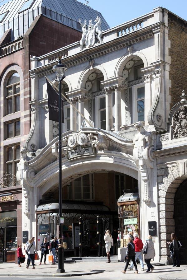 Μπέρλινγκτον Arcade στοκ εικόνα