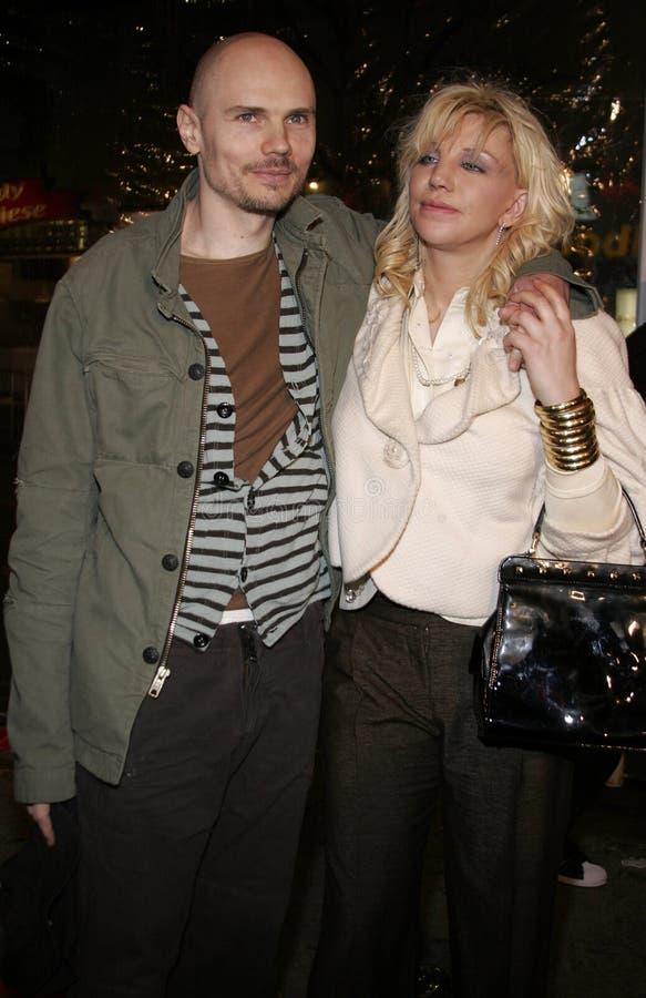 Μπίλι Corgan και Courtney Love στοκ εικόνες με δικαίωμα ελεύθερης χρήσης