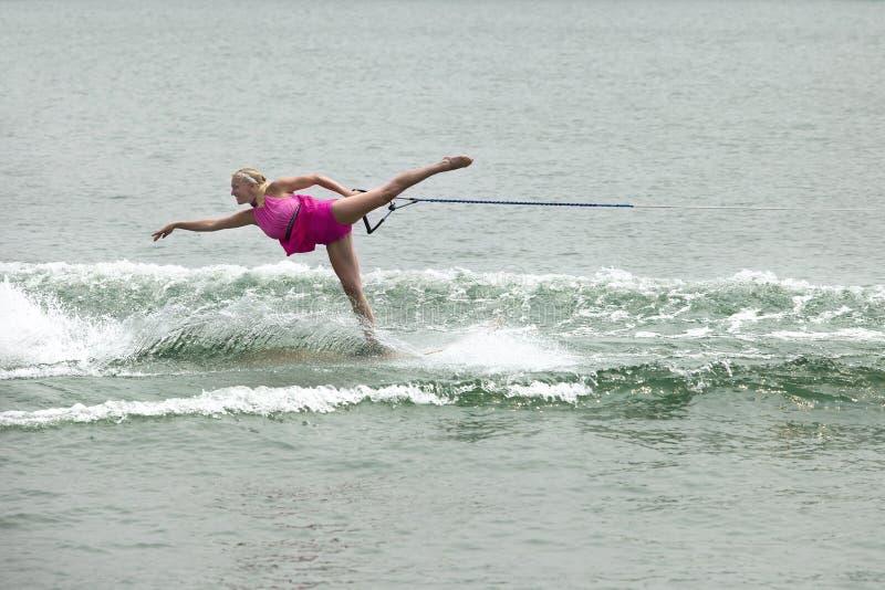 Μπαλέτο γυναικείου ύδατος στοκ εικόνες με δικαίωμα ελεύθερης χρήσης