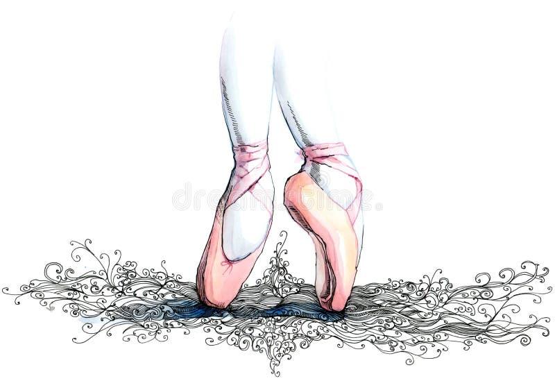 μπαλέτο απεικόνιση αποθεμάτων