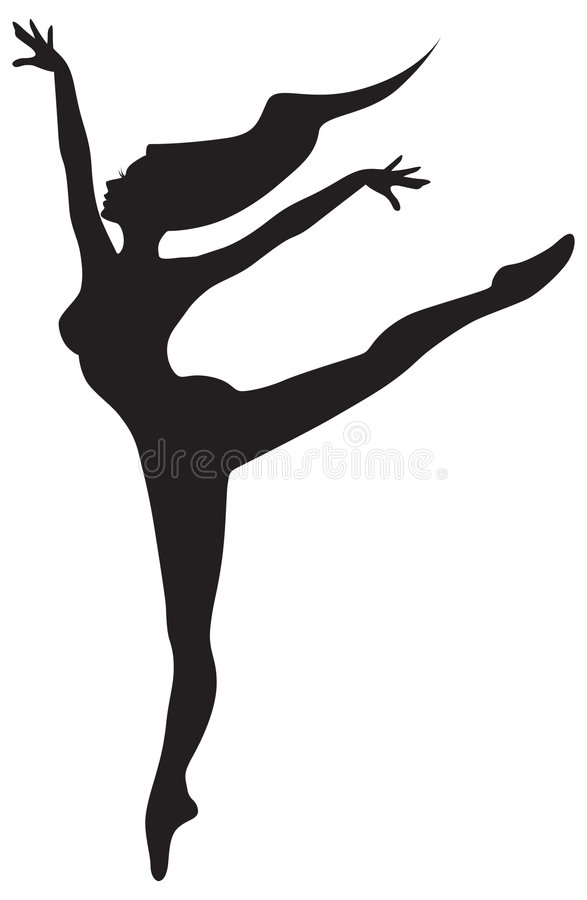 μπαλέτο διανυσματική απεικόνιση