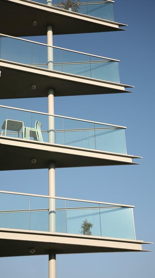 μπαλκόνια σύγχρονα στοκ φωτογραφίες με δικαίωμα ελεύθερης χρήσης