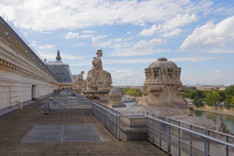 Μπαλκόνι δ ` Orsay Musée στοκ εικόνες