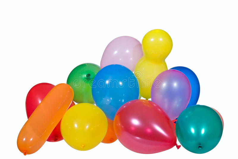 μπαλόνια διογκώσιμα στοκ εικόνες