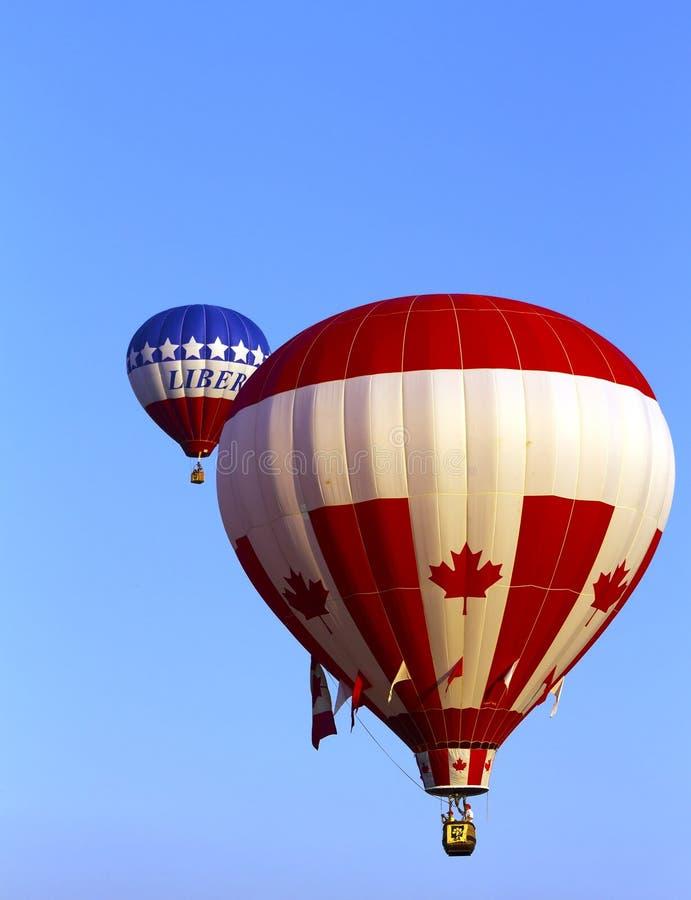 Μπαλόνια ζεστού αέρα στοκ φωτογραφία με δικαίωμα ελεύθερης χρήσης