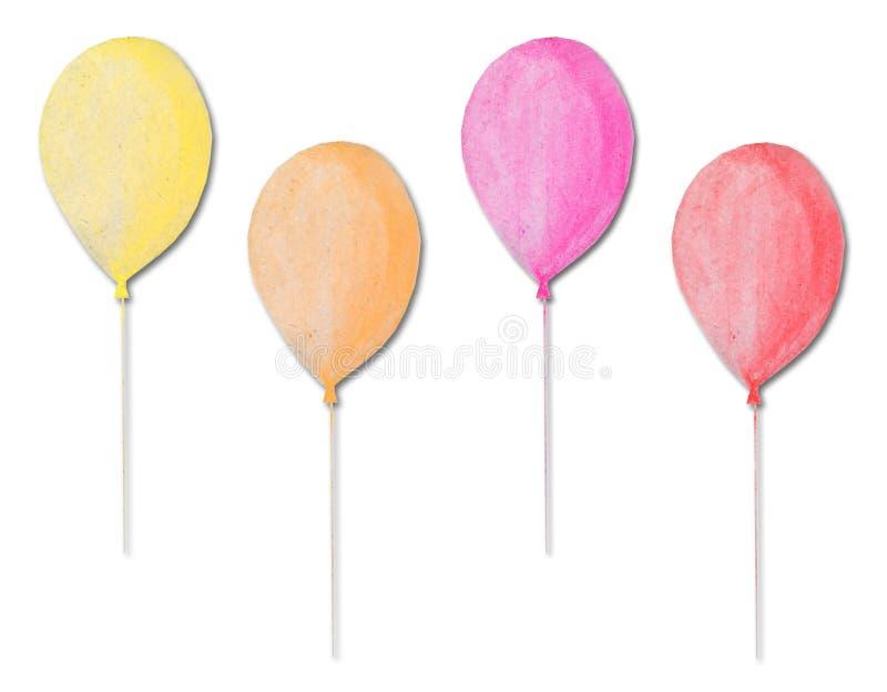 μπαλόνια πολύχρωμα στοκ φωτογραφίες