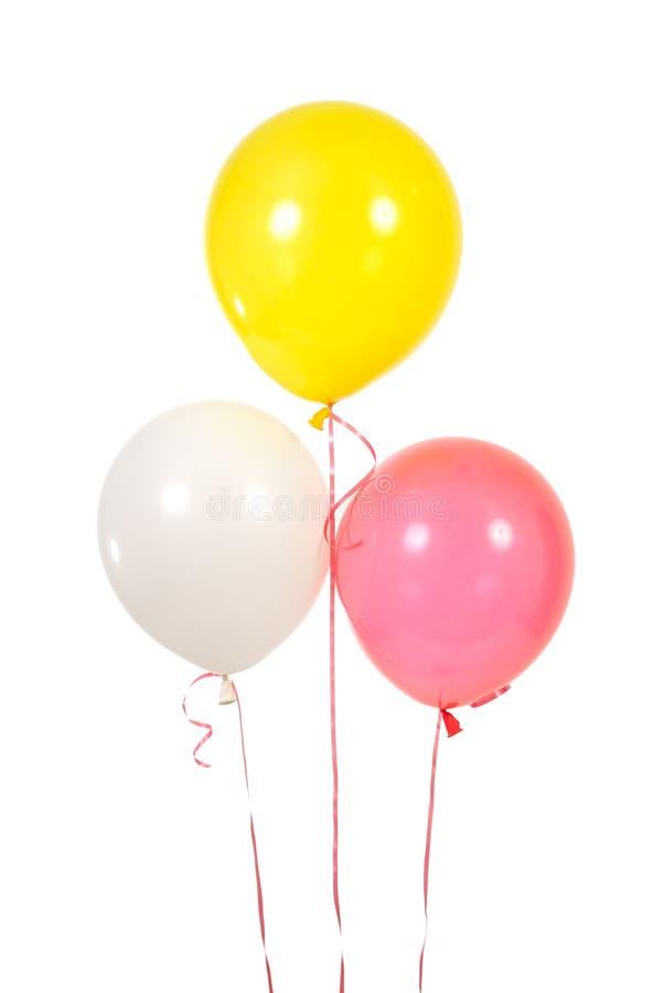μπαλόνια τρία στοκ φωτογραφία με δικαίωμα ελεύθερης χρήσης