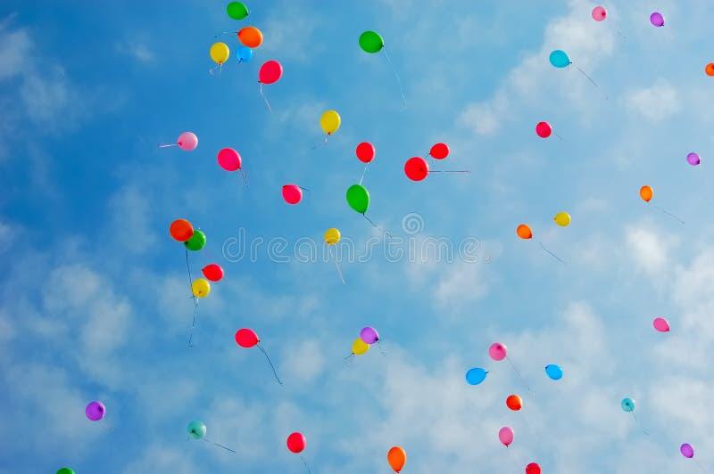 μπαλόνια στοκ εικόνες