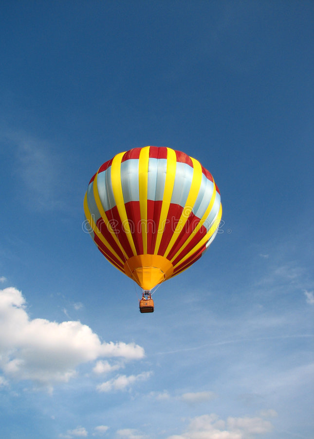 μπαλόνι αέρα καυτό στοκ εικόνα