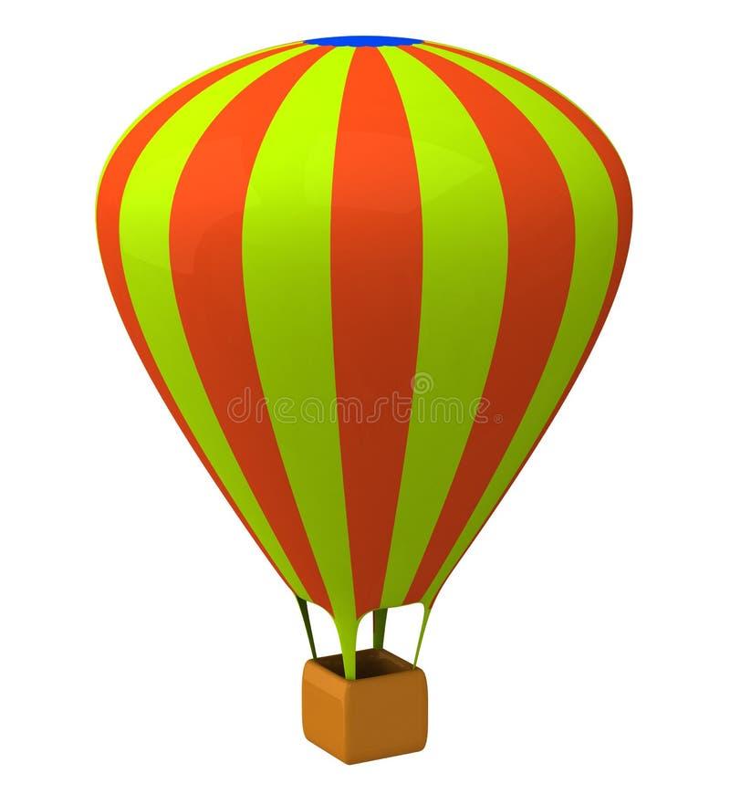 Μπαλόνι αέρα τρισδιάστατο ελεύθερη απεικόνιση δικαιώματος