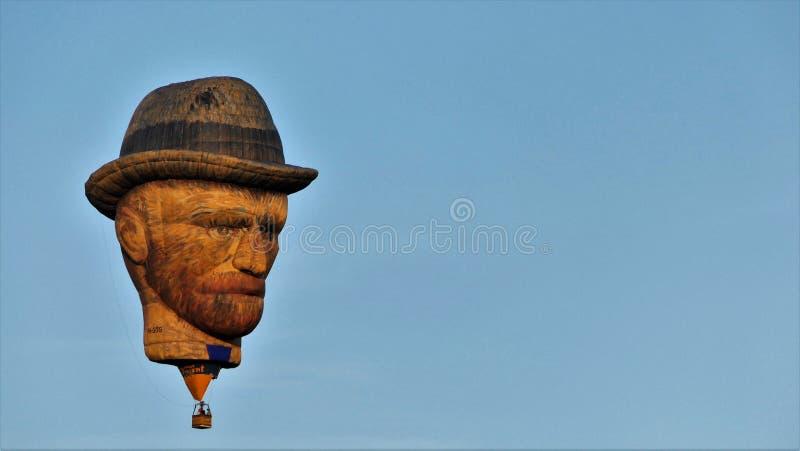 Μπαλόνι Vincent στοκ εικόνες
