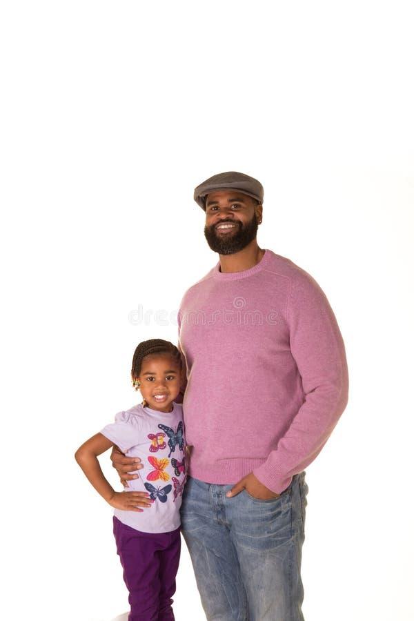 Μπαμπάς και η κόρη του στοκ φωτογραφία με δικαίωμα ελεύθερης χρήσης