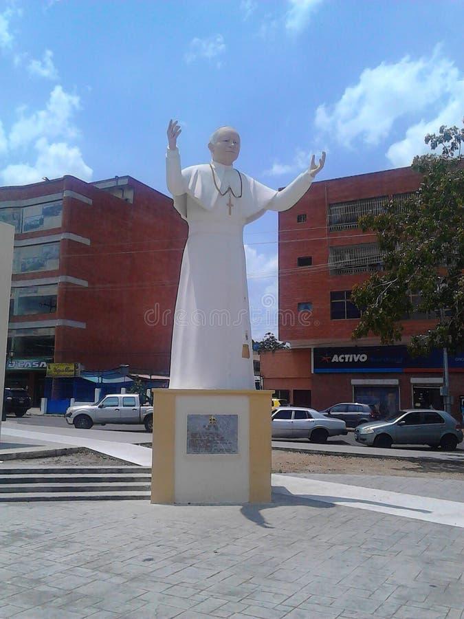 Μπαμπάς Juan Pablo ΙΙ στοκ εικόνες