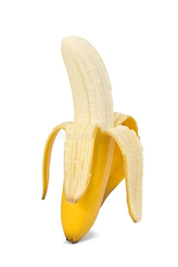 μπανάνα που απομονώνεται στοκ εικόνες