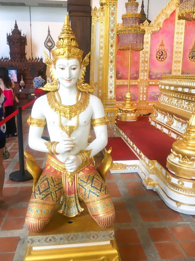 ΜΠΑΝΓΚΟΚ ΤΑΪΛΑΝΔΗ 12.2018 Αυγούστου ταϊλανδικός άγγελος, ταϊλανδικός άγγελος ύφους τέχνης στοκ εικόνες