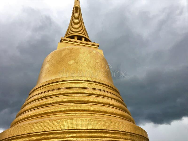 ΜΠΑΝΓΚΟΚ ΤΑΪΛΑΝΔΗ 14,2018 Αυγούστου Wat Saket Ratcha Wora Maha Wihan στην περιοχή Pom Prap Sattru Phai, Μπανγκόκ, Ταϊλάνδη στοκ φωτογραφίες με δικαίωμα ελεύθερης χρήσης
