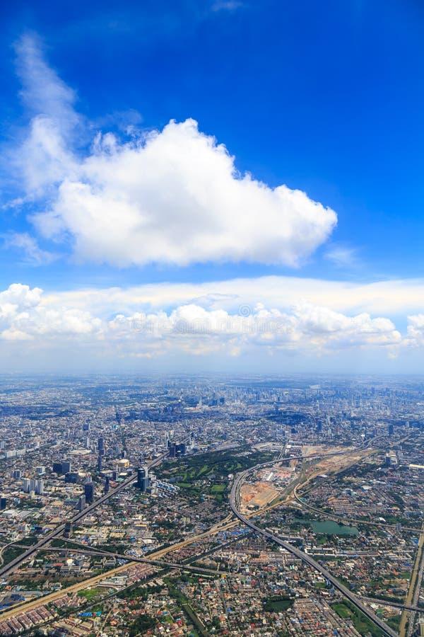 Μπανγκόκ επάνω ανωτέρω στοκ εικόνες με δικαίωμα ελεύθερης χρήσης