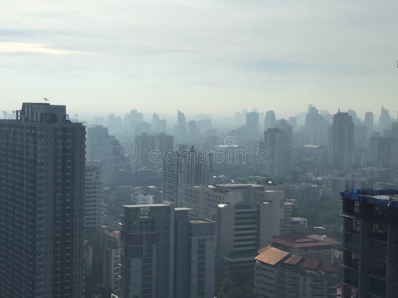 Μπανγκόκ ομιχλώδης στοκ φωτογραφία με δικαίωμα ελεύθερης χρήσης