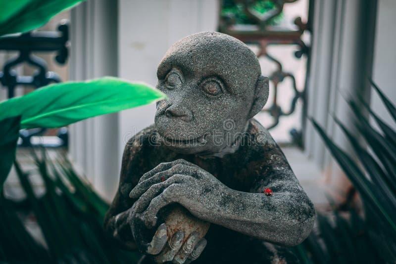 Μπανγκόκ, Ταϊλάνδη, 12 14 18: Άγαλμα στο μεγάλο παλάτι στοκ φωτογραφία με δικαίωμα ελεύθερης χρήσης