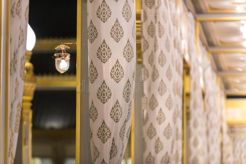 Μπανγκόκ, Ταϊλάνδη - 4 Νοεμβρίου 2017: Το βασιλικό κρεματόριο του βασιλιά στοκ εικόνα
