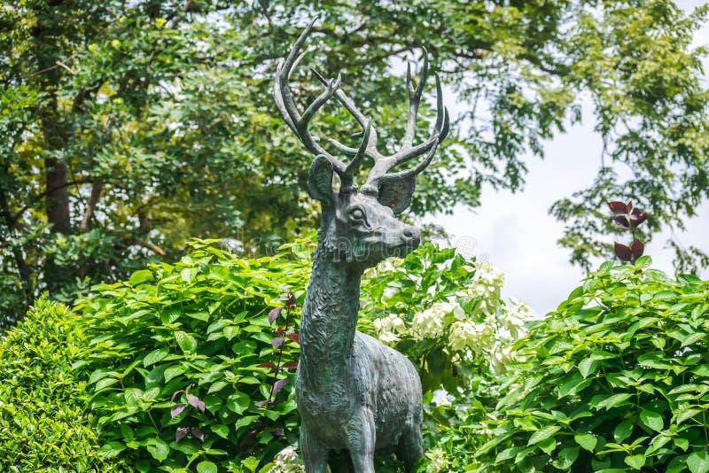 Μπανγκόκ, Ταϊλάνδη - 2 Σεπτεμβρίου 2018: Άποψη του αγαπητού αριθμού, ένα εικονικό σύμβολο του ζωολογικού κήπου Dusit στη Μπανγκόκ στοκ εικόνα