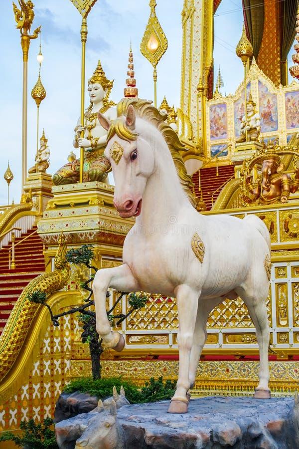 Μπανγκόκ, Ταϊλάνδη: Στις 29 Νοεμβρίου 2017, το βασιλικό κρεματόριο για Α.Μ. βασιλιάς Bhumibol Adulyadej σε Sanum Luang στοκ εικόνες