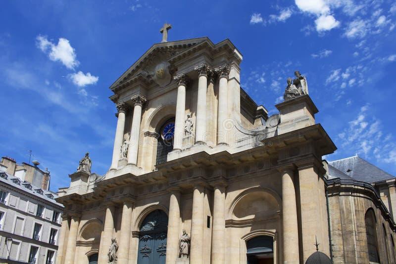 Μπαρόκ εκκλησία στοκ φωτογραφία