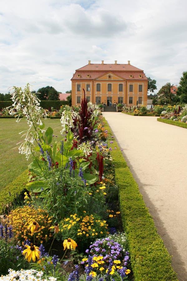 μπαρόκ κήπος στοκ εικόνα με δικαίωμα ελεύθερης χρήσης