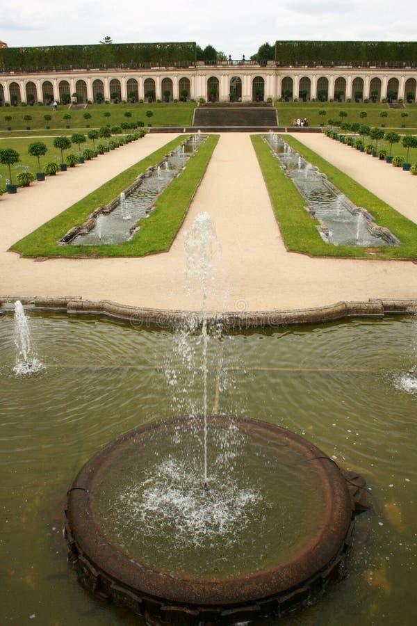 μπαρόκ κήπος στοκ φωτογραφίες με δικαίωμα ελεύθερης χρήσης
