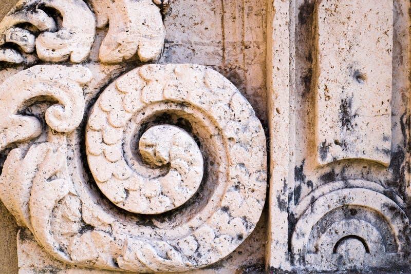 Μπαρόκ ύφος Deatil στοκ φωτογραφία