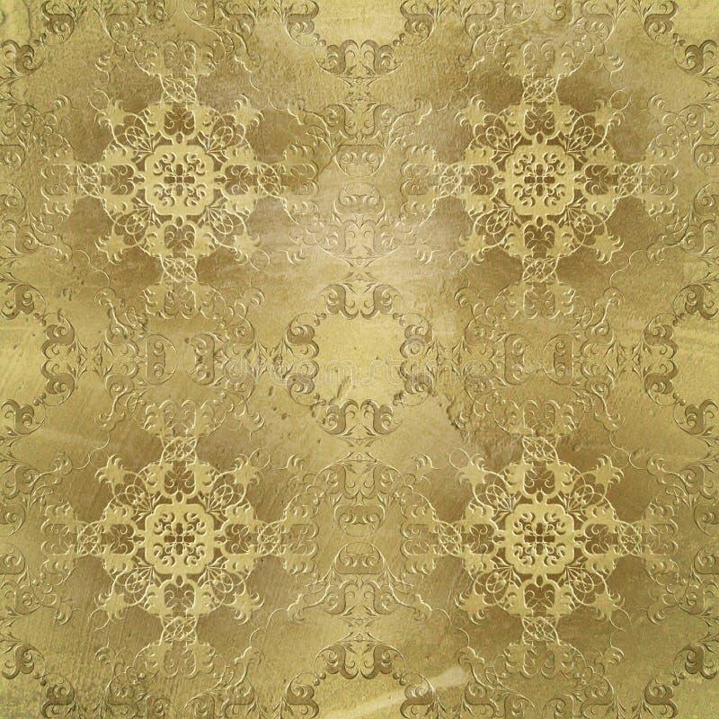 Μπαρόκ textura ύφους στοκ φωτογραφία με δικαίωμα ελεύθερης χρήσης