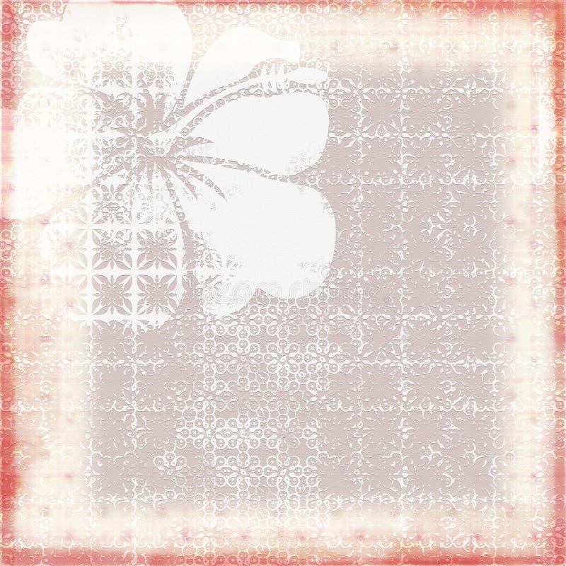 μπατίκ 3 ανασκόπησης διανυσματική απεικόνιση