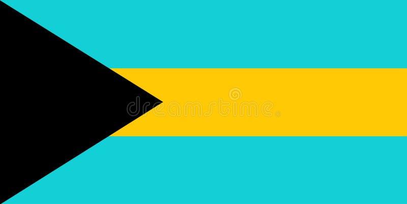 Μπαχάμες διανυσματική απεικόνιση