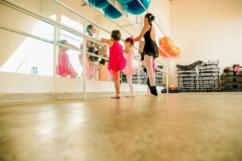 Μπαλέτο Infantil στοκ εικόνες με δικαίωμα ελεύθερης χρήσης