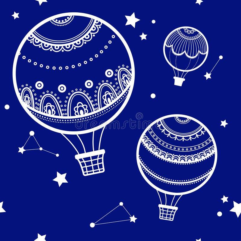 μπαλόνια ανασκόπησης αέρα &kap ελεύθερη απεικόνιση δικαιώματος