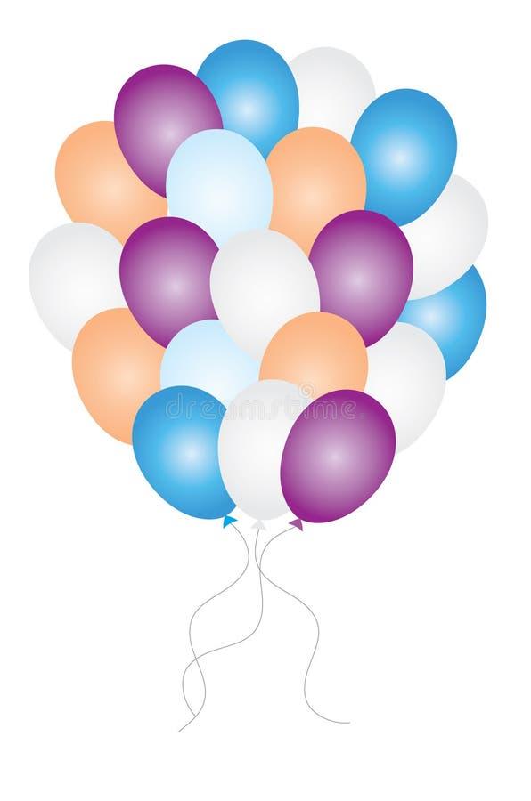 Μπαλόνια διανυσματική απεικόνιση