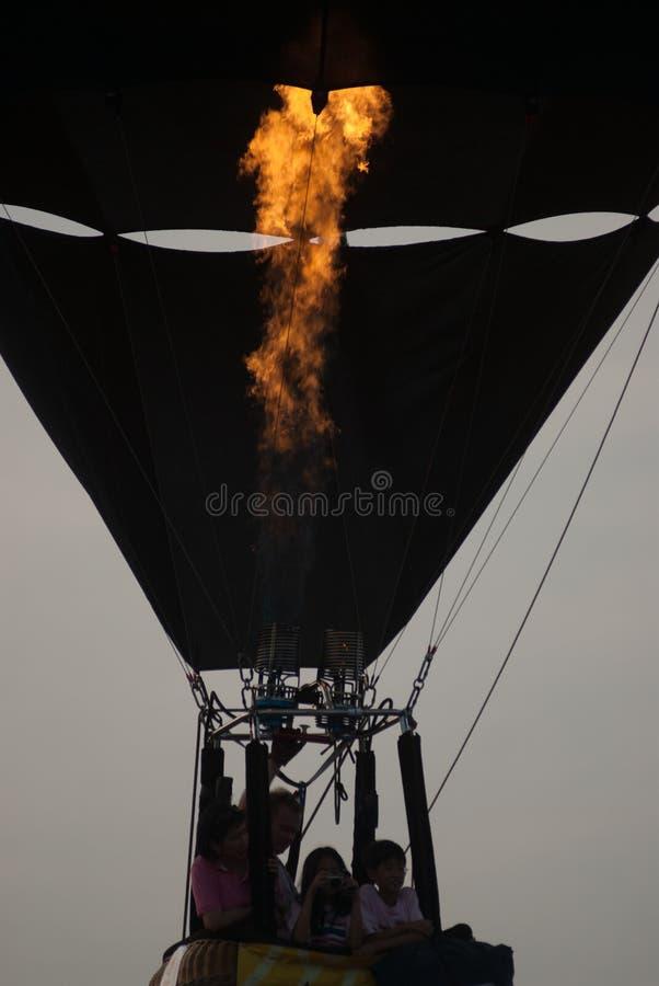 Μπαλόνι ζεστού αέρα στο διεθνές φεστιβάλ 2009 μπαλονιών της Ταϊλάνδης στοκ εικόνες με δικαίωμα ελεύθερης χρήσης