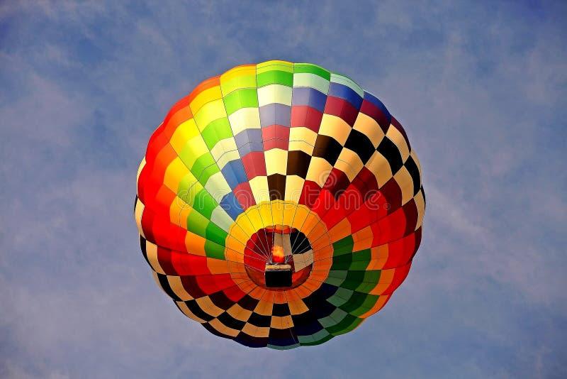 Μπαλόνι ζεστού αέρα στο φεστιβάλ μπαλονιών του Νιου Τζέρσεϋ στοκ φωτογραφία με δικαίωμα ελεύθερης χρήσης